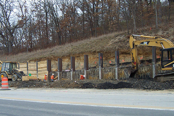 Blackhawk Road Retaining Walls